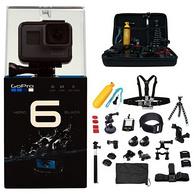 GoPro HERO 6 Black 運動攝像機+64GB TF卡+雙電+ALL U Need Kit.套裝