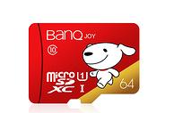 3小时后结束  0.76元/G!banq 64GB TF MicroSD 存储卡