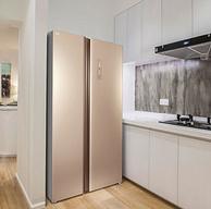 双11预售: TCL BCD-499WEF1 对开门冰箱 499升