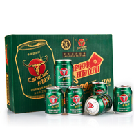 泰国原装 Carabao 卡拉宝 维生素果味饮料250ml*24罐*2件