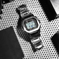 11日0點、限定款 :Casio 卡西歐 G-Shock 男士太陽能腕表 GMW-B5000-1PR