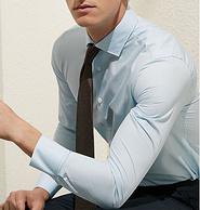 大牌面料,十米布 免烫 男长袖衬衫
