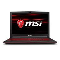 11日0點: msi 微星 GL63 15.6英寸游戲筆記本電腦(i7-8750H、8G、256G+1TB、GTX1060 6G)