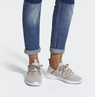 无束缚感超轻材质!adidas 阿迪达斯 女士休闲鞋 DB1769