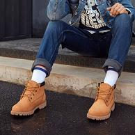 InteRight 男士低幫牛皮工裝靴 *2件 +湊單品