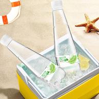 降3元 0糖0汽0热量:天地精华 青柠檬 苏打水410mlx15瓶