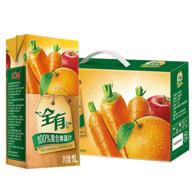 匯源果汁 全有100%純果汁 1L*4盒 *4件