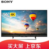 限地区:Sony 索尼 55英寸 液晶电视KD-55X8066E 3999元