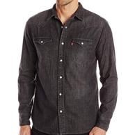 Levi's 李维斯 男士 牛仔衬衫 22美元约¥153