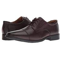 Clarks 其乐 Tilden Cap 男士真皮休闲鞋