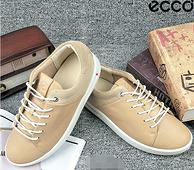 尺码全 ECCO 爱步 Corksphere 1 女士系带运动鞋