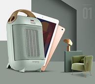小神价!亚马逊销量第1 德龙DeLonghi hfx30c18 .AG暖风机
