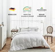 希尔顿酒店指定合作商!德国 Suprelle Cocoon 白鹅绒保暖冬被 1.5*2.15米