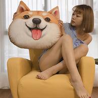 貓范 哈士奇 柴犬 DOGE精神污染靠枕