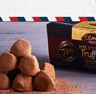 法國排名第一,CEMOI賽夢 黑松露形巧克力 100g*4塊