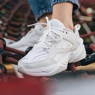 23日0点:Nike 耐克 M2K Tekon AO3108-006 女神全白复古老爹鞋