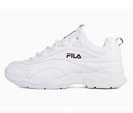 3倍差价!FILA 斐乐 RAY-FS1SIA1160X 情侣款刀锋厚底复古增高运动鞋