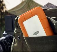新低!LaCie莱斯 2.5寸 Rugged Mini系列 4TB USB 3.0 移动硬盘