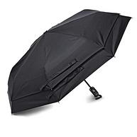 双层设计!Samsonite 新秀丽 双层防风自动折叠雨伞