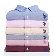 亞馬遜爆款! U.S. polo長袖襯衫男士 大部分款一口價 128元包郵包稅(吊牌價498元) 買2件減20元