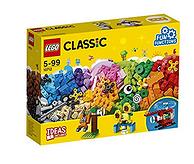 可拼搭多种造型!LEGO 乐高  Classic系列 齿轮创意拼砌盒 10712