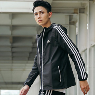 adidas 阿迪达斯 男士 梭织运动夹克CF4887