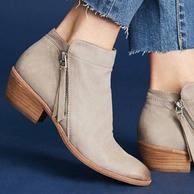 新低!灰褐色,Sam Edelman 女 短靴 Packer F3071L