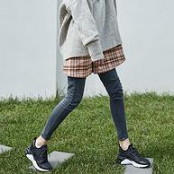 内增高5CM!斯潘迪  女厚底复古运动鞋