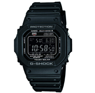 Casio卡西歐 G-SHOCK  男款電波表 GW-M5610-1B