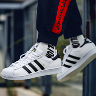 4日10点:adidas 阿迪达斯 三叶草 金标 休闲板鞋C77124
