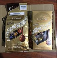 第75期团购,LINDOR瑞士莲 金装 5种口味软心巧克力(附不同品牌对比) 130金币晒单
