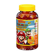 亚马逊复合维生素第一!190粒 超级马里奥版 L'il Critters 儿童多种维生素软糖