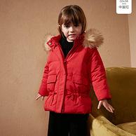 双12预售:Mini Balabala 迷你巴拉巴拉 女童棉服