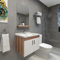 双12预售:凯鹰 60cm 9955 浴室柜组合套装