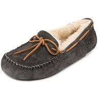 UGG Dakota 系列 女士翻毛皮平底蝴蝶结豆豆鞋
