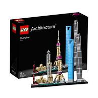10点、低于海淘:Lego 乐高 建筑系列 上海天际线21039