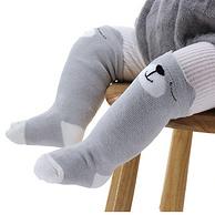 A类标准!樱花猴 儿童过膝毛圈袜 3双