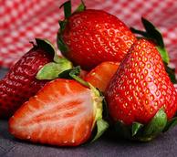 当季水果,3斤,余小菜 新鲜 奶油草莓
