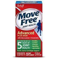Schiff Move Free 氨基葡萄糖 关节养护素 绿色款 120粒