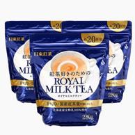 日本销量第一!日东红茶 皇家奶茶 280g*3袋