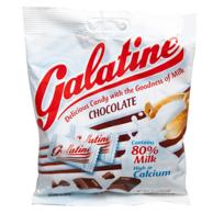 意大利进口 Galatine 佳乐锭 巧克力味牛奶片100g*2件