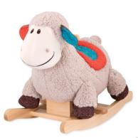 双12预售:加拿大 B.Toys 比乐 木质+布艺+毛绒 儿童摇摇马BX1643Z