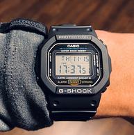 周董同款、G-Shock系列,Casio 卡西欧 男士 DW5600E-1V经典电子手表