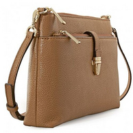 差价巨大!MICHAEL KORS Snap Pocket Crossbody 系列 32H6GM9C3L 女士单肩斜挎包