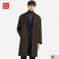 12日0点:UNIQLO 优衣库 设计师合作款 男士 羊毛混纺长大衣