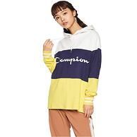 Champion CW-NS111 女士连帽拼接卫衣