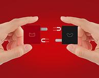 降8元!天猫定制+智能快充+双USB口:Mipow 麦泡 充电插头  单支装