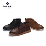 12日0点:美国 Sperry 斯佩里 男士 牛皮 休闲高帮皮鞋