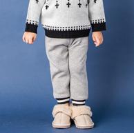 日本童装人气王品牌!Petitmain 儿童加绒长裤