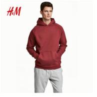 H&M  男士棉质连帽卫衣0569981